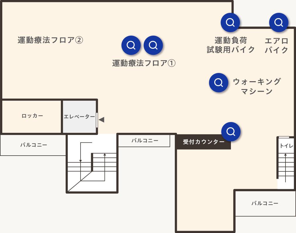 3Fフロアマップ